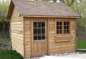 10x10 storage shed photo