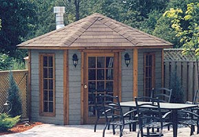 10' five-sided pool cabana photo - click to enlarge