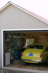 artist garage interior