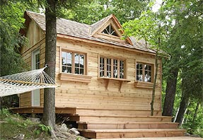 10 x 16 cottage bunkie photo - click to enlarge