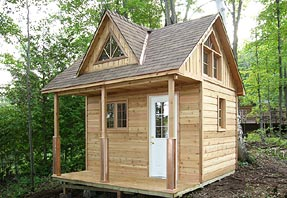 12 x 12 cottage cabin with loft and shed dormer for 12x18 shed window