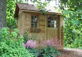 photo of 7 x 10 storage shed